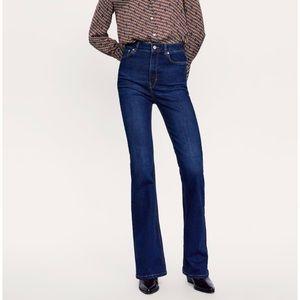 👖Zara Skinny Flare Jeans sz 4